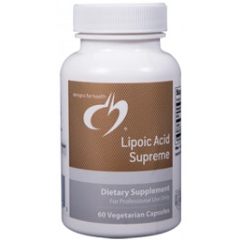 Supplement of the week: Designs for Health Lipoic Acid Supreme