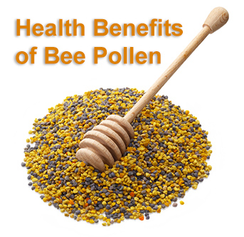 The Health Benefits of Bee Pollen, Propolis  & Royal Jelly