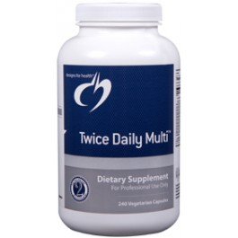 Supplement of the Week: Designs for Health Twice Daily Multi